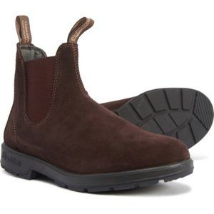 Blundstone Suede Chelsea Brown Boot. Size 10.5, 12